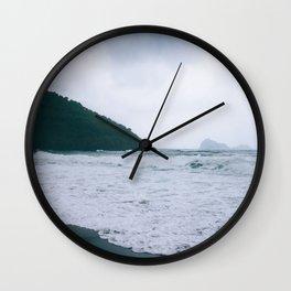 Cloudy Days Wall Clock
