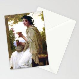 "William-Adolphe Bouguereau ""Bacchante"" Stationery Cards"