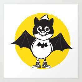 Bat Chicky Art Print
