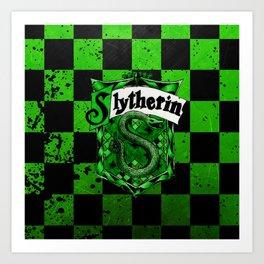 Slytherin Logo Art Print