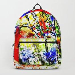 Garden Chock Full of Flowers Backpack