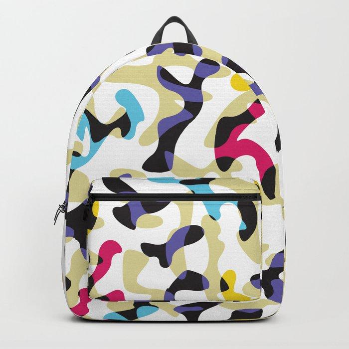 Glass ornate pattern #1. Backpack