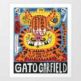 OG Cat Art Print