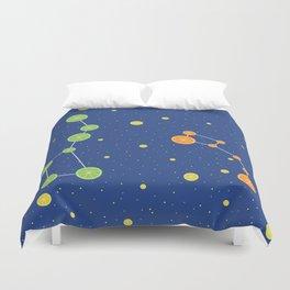 Citrus constellations Duvet Cover