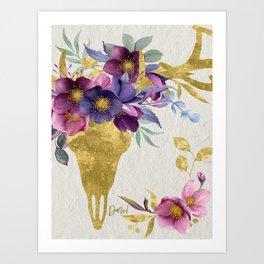 Dare! – Golden Deer Companion Art Print