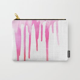 PINK DRIP Carry-All Pouch