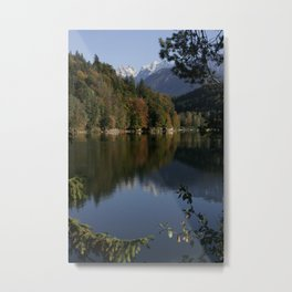 Hechtsee in the Brandenberger Alps 2, Tirol, color photo Metal Print