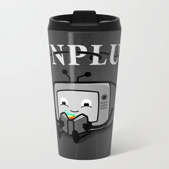 Unplug Metal Travel Mug