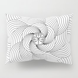 Mandala circle Pillow Sham