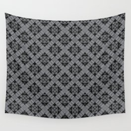 Sharkskin Patchwork Wall Tapestry