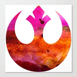Star Wars Rebel Alliance Colors Canvas Print