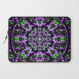 Amethyst Portal Mandala Laptop Sleeve