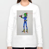 physics Long Sleeve T-shirts featuring Alien Physics  by DApple