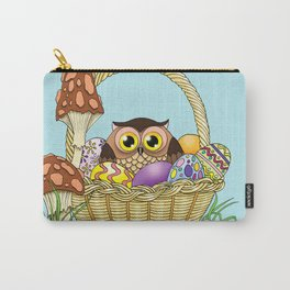 Easter Owl Carry-All Pouch