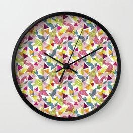 Tangram Wall Clock