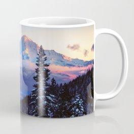 A Glimpse of Mt. Shasta City Coffee Mug