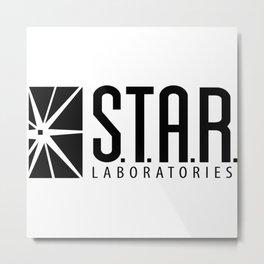 S.T.A.R laboratories Metal Print