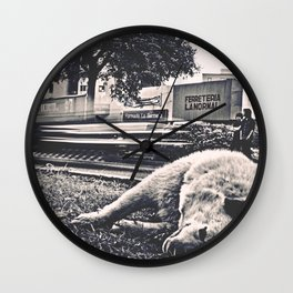 Time of Dog Wall Clock