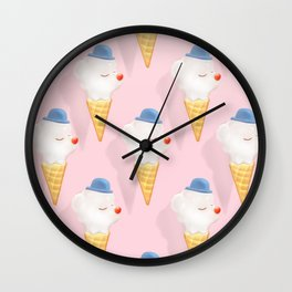 SmileDog Pool Float Wall Clock