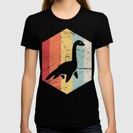 Retro 70s Loch Ness Monster Icon T-shirt