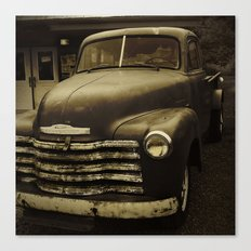 Souls Like the Wheels Canvas Print