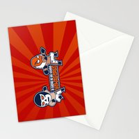 Los Luchadores Stationery Cards