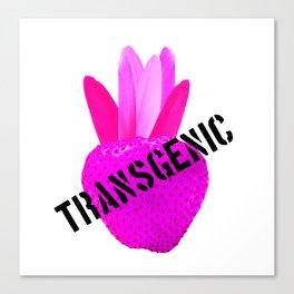 Transgenic Psychedelic Strawberry Canvas Print
