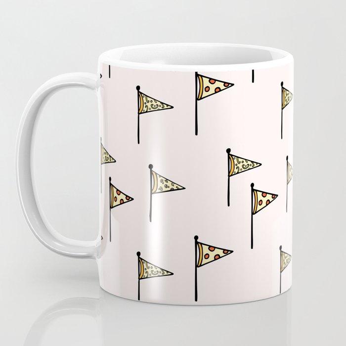 Pizza Pennant Coffee Mug