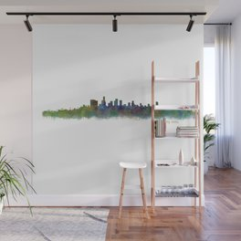 Beverly Hills City in LA City Skyline HQ v2 Wall Mural