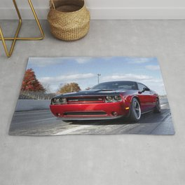 Scat Pack Challenger RT Two Tone Prototype Rug