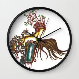 Prince of Autumn Wall Clock