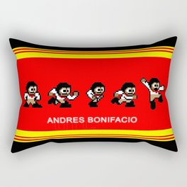 8-bit Andres 5 pose v2 Rectangular Pillow
