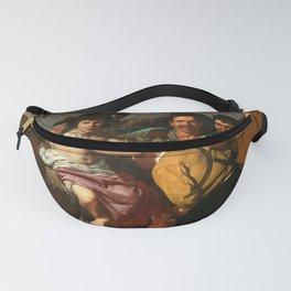 """Diego Velázquez """"The Triumph of Bacchus (El Triunfo de Baco o Los Borrachos)"""" Fanny Pack"""