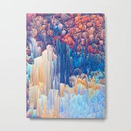 Glitches in the Clouds Metal Print