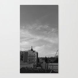 Los tejados Canvas Print