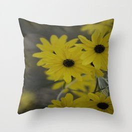 Beauty In Yellow Throw Pillow