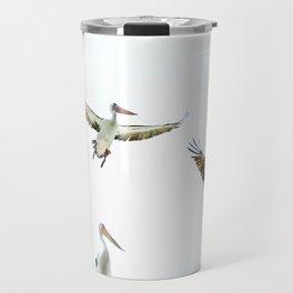 Pelicans of Woy Woy Travel Mug