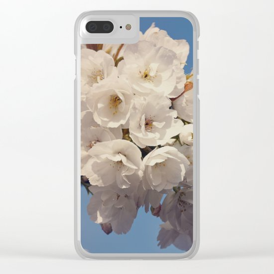 Hello Spring #2 Clear iPhone Case