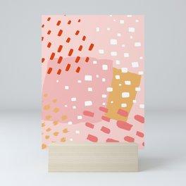 Abstract Pattern Mix Mini Art Print