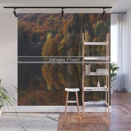 Autumn Court Wall Mural