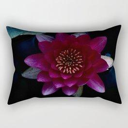 Water Lilly Rectangular Pillow