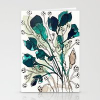 emerald Stationery Cards featuring Emerald by Tonya Doughty