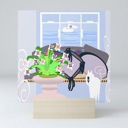 The Lilac room Mini Art Print