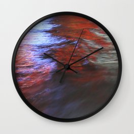 Citylights: Hong Kong Harbour #7 - RIGHT - Triptychon Wall Clock