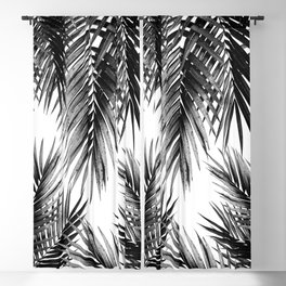 Palm Leaf Jungle Vibes #3 #tropical #decor #art #society6 Blackout Curtain