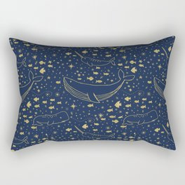 Celestial Ocean Rectangular Pillow