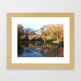 Stone Bridge Framed Art Print