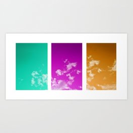 triptych4 Art Print