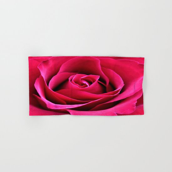 Red Rose Love Hand & Bath Towel