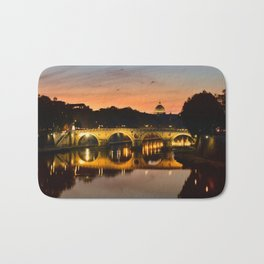 St. Peter in the Vatican with Ponte Sisto in first term. Bath Mat
